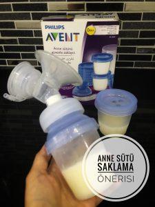Anne sütü saklama koşulları