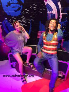 Bob Marley, Madame Tussauds, Heykel, Balmumu Heykeli, MFÖ, Neşet Ertaş