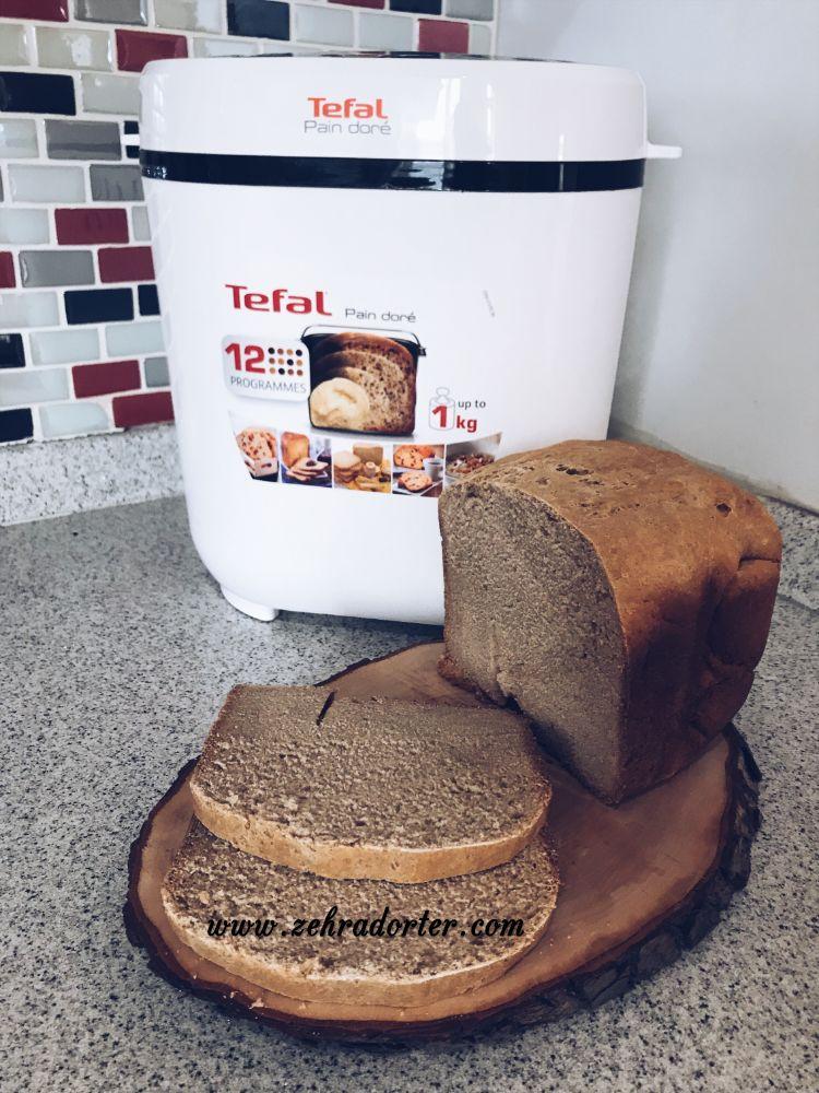 Tefal Pain Dore Ekmek Makinesi, Ekmek Makinesi, Karakılçık Buğdayı, buğday ekmeği, ata buğdayı, sağlıklı ekmek, parmak besin